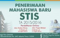 pendaftaran STIS 2015